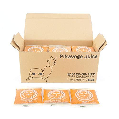 葉っぱ付きまるごと冷凍にんじんジュース 1箱(100cc×30パック入)