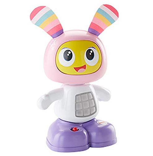 Fisher-Price Mini Beba Robot Interactif, Jouet Sons et Lumières, Stimule Les Sens de Bébé, 6 Mois et Plus, FDC52