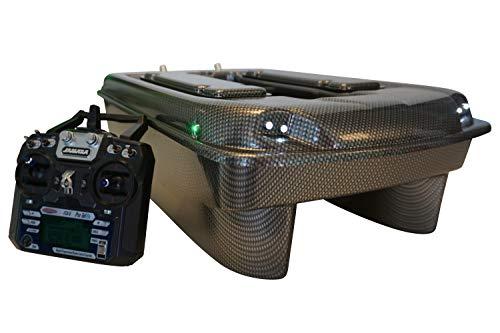 Carp Madness X-Jet 2020 - Barco cebador (2,4 GHz, carbono, con cola...