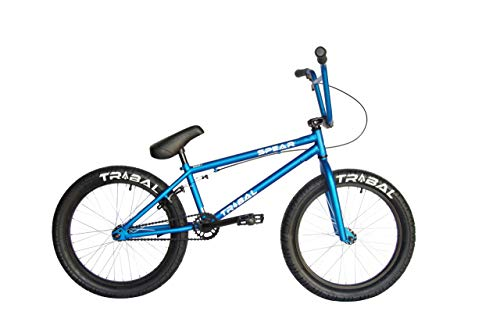 Tribal Spear BMX-Fahrrad, matt, lebendiges Blau