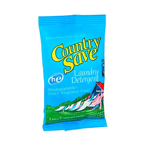 Country Save HE Powdered Laundry Detergent, 2-Ounce Packets (Pack of 200)