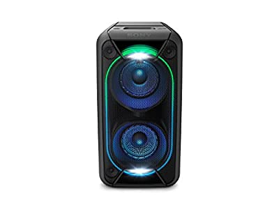 Sony GTK-XB90 Bluetooth High Power Party Speaker, with Built-in Battery and Lighting Effects GTKXB90B.CEK from Sony