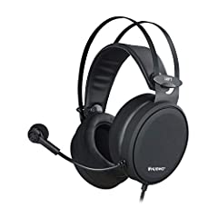 lmmersive Gaming Audio. Dual 50mm speaker drivers are engineered to produce detailed, balanced soundscape with ultra-low distortion for your games, music, movies, and more Noise-canceling Mic. The flexible omnidirectional microphone captures the user...