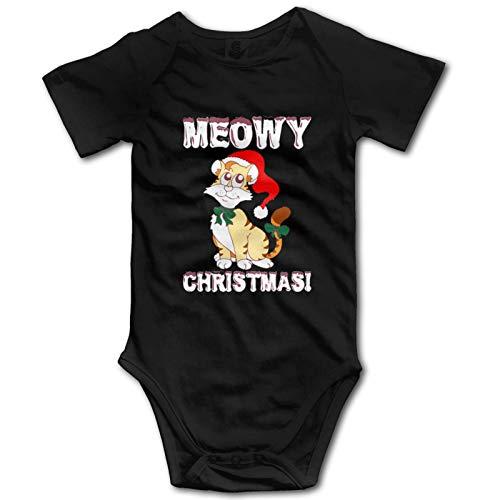 Promini Meowy ZI6893 - Mono de manga corta para bebé (algodón, 6-9 meses)