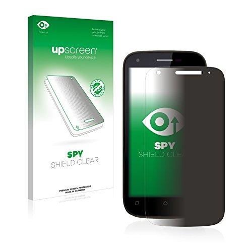 upscreen Anti-Spy Blickschutzfolie kompatibel mit Wiko Cink Peax 2 Privacy Screen Sichtschutz Bildschirmschutz-Folie