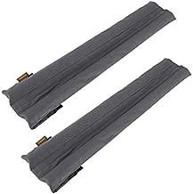 GNEGNI Under Door Draft Stopper,Double Door Sweeps 32 to 36 Inches Door Blocker for Windproof Rainproof Noise Reduction