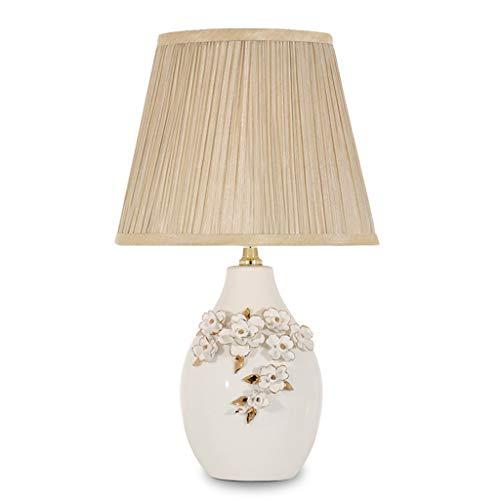 Lampe de table F Lampe de table Vintage Sculpté Chambre Céramique Décoration Chaud Lampe De Chevet