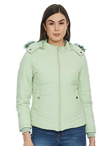 Qube By Fort Collins Women's Jacket (89408AZ_1_Emrald_L)
