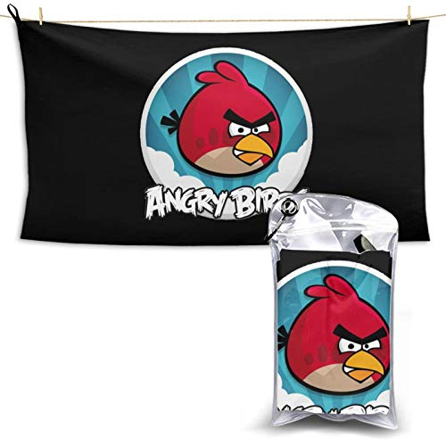 N / A Angry Birds - Toalla de secado rápido