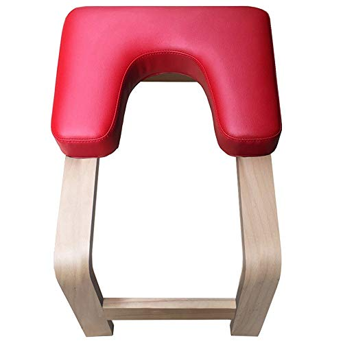 Cheap KMCMYBANG Yoga Bench Beech Yoga Inversion Stool Handstand Artifact Inverted Aid Inversion Benc...