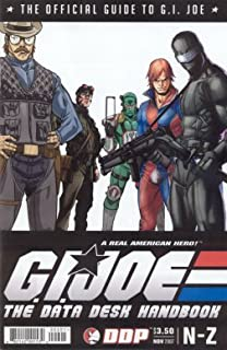 GI Joe Comic Data Desk Handbook N-Z by Devils Due