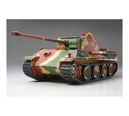 RC Auto kaufen Kettenfahrzeug Bild: Tamiya 300056022 - RC Panther G, ferngesteuerter Panzer, 1:16, Elektromotor, Bausatz*