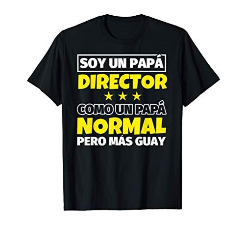 Hombre Director Papá Regalo Camiseta
