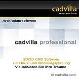 cadvilla professional, Architektur 2D/3D CAD Software / Programm - nutzbar als Hausplaner, Einrichtungsplaner, Raumplaner, Badplaner, Kchenplaner (DVD-ROM)