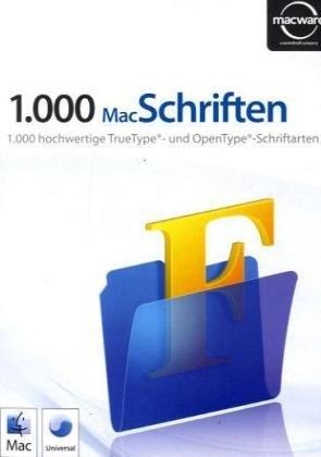 1000 Schriften für Mac  (MAC)