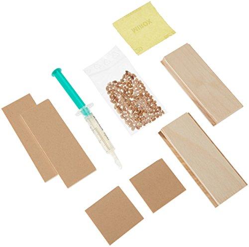 Baff Muziekmeubel knutselrassel - shaker als bouwpakket incl. bouwhandleiding schuurpapier en lijm