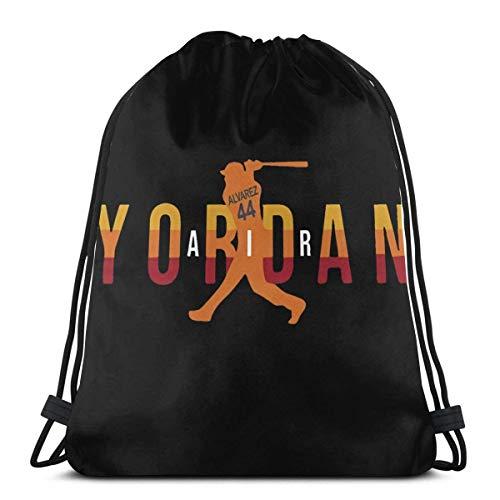Chezaskee Yordan No44 Air Baseball Adultos Bolsas de Cordón Clásico Hombres y Mujeres Deportes Mochila Bolsa de Almacenamiento Bolsa de Viaje Playa