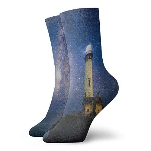 Calcetines estrellados cielo constelacin ciervo fresco para mujer calcetines de vacaciones calcetines de descanso para nias