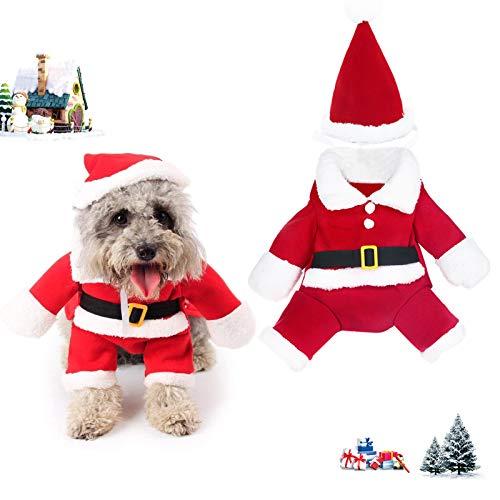 TaimeiMao Weihnachten Hund Kleidung,katzenbekleidung,Hund Weihnachten kostüm,katzenbekleidung Weihnachten, Haustier-Kleidung,Hundekatze-Kleidung Weihnachts,Hund Kleidung,Christmas Costumes