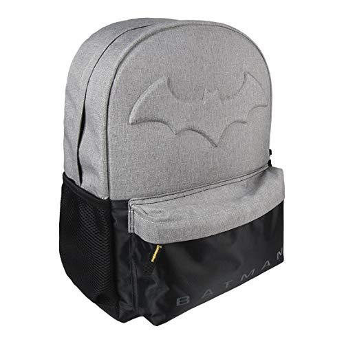 Cerdá Batman Kinder-Rucksack, 42 cm, Grau (gris)