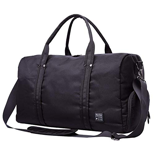 FAJRO Duffle Bag for Women Men Aqua Fog Travel Duffel Bag Large Size Water-proof Tear Resistant