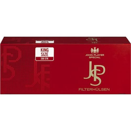 Zigarettenhülsen JPS King Size 1.000 Stück