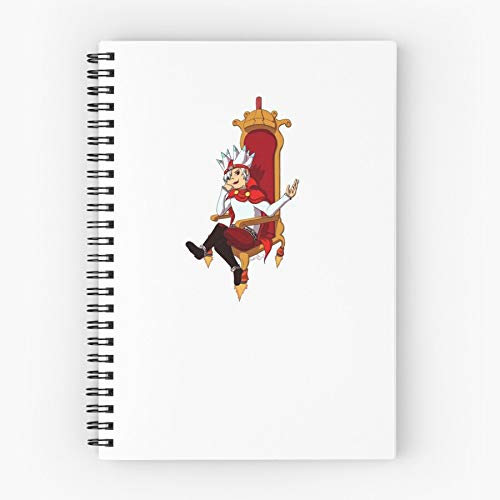 Playstion Specter Video Game Anime Ape Escape Cute School Five Star Spiral Notebook With Durable Print