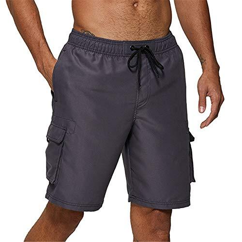 Herren Dreieck Badeshorts Bedruckt Anti-Peinliche Mode Hot Spring Shorts lässige Wettkampf-Badehose mit niedriger Taille