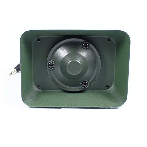 LIUSHUNBAO, Pato Ganso Altavoz de Llamadas de Aves de Caza Equipo Externo de MP3 Amplificador electrónico Decoy Uso con la Caza de Llamadas