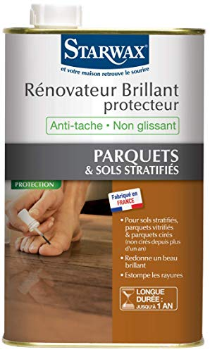Starwax 993 renovateur brillante protector parqué stratifies – brillante