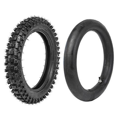 JCMOTO Motocross Tire and Inner Tube kit 90/100-14 For Pit PRO Trail Dirt Bike | Off Road Motorcycle Tires