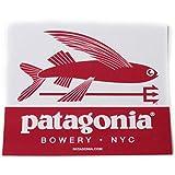 patagonia(パタゴニア) ステッカー バワリー ニューヨーク トライデントフィッシュ BOWERY NYC NEW YORK [並行輸入品]
