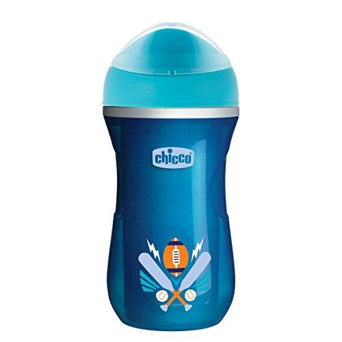 Chicco 00006981210000 Tazza Active, 14m+, Azzurro Scuro