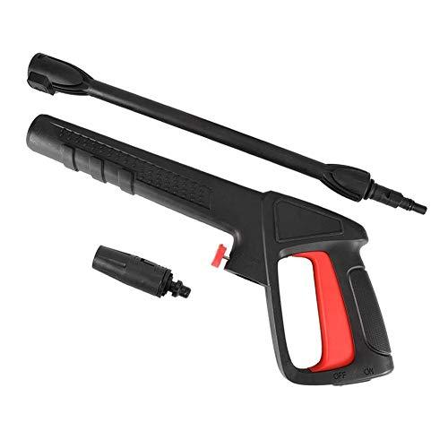 Pistolet pour nettoyeur haute pression Pistolet pour jet d'eau 16Mpa à haute pression avec jet d'eau ajustable pour Bosch AQT Black & Decker