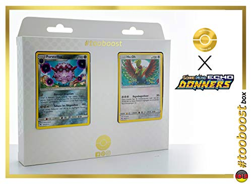 Forstellka (Forestress) 124/214 & Ho-Oh 160/214 - #tooboost X Sonne & Mond 8 Echo des Donners - Coffret de 10 Cartes Pokémon Allemandes