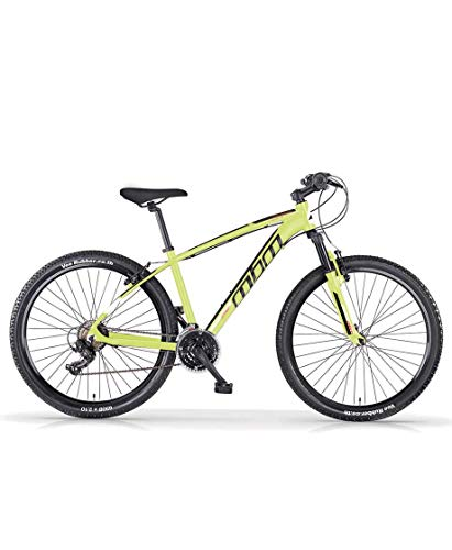 MBM Dart 29' MTB U Acc REVO, MBN Bici Unisex Adulto, Lime A44, H 38
