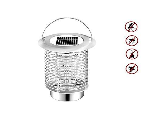 Q&Z Tueur De Moustique Solaire Anti Moustique Lampe Electrique IntéRieur Et ExtéRieur Lanterne Camping ImperméAble CaractéRistiques avec éClairage ExtéRieur Et Lampes Anti-Moustiques
