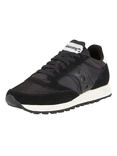 Saucony Jazz Original Vintage, Sneakers Unisex-Adulto, Black Black 9, 38 EU