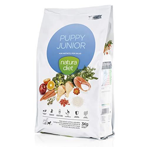 Natura Diet Comida Seca para Perros Cachorro - 3000 gr ⭐