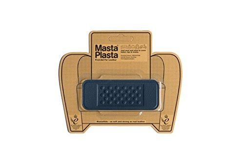 MastaPlasta - Parches autoadhesivos para reparación de Cuero y Otros Tejidos. Azul...