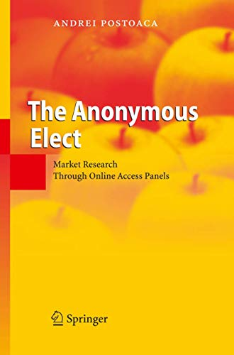The Anonymous Elect: Market Research Through Online Access Panels