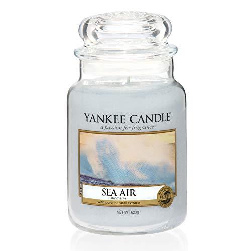Yankee Candle Duftkerze im Glas (groß) | Sea Air | Brenndauer bis zu 150 Stunden