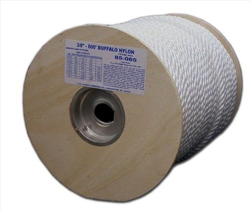 T.W . Evans Cordage 85-081 3/4-Inch by 120-Feet Twisted Nylon Rope by T.W . Evans Cordage Co.