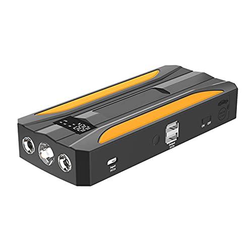 Cargador de batería para automóvil de carga rápida portátil, refuerzo de herramienta eléctrica de emergencia para exteriores con pantalla LCD, utilizado para automóviles de 12 V, motocicletas