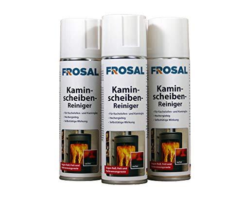 Frosal Kaminscheiben-Reiniger Schaum Spray (3 er Set)