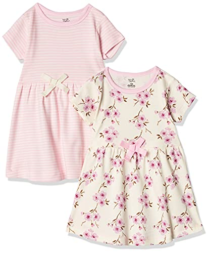 Touched by Nature Girls' Organic Cotton Short Sleeve Dress