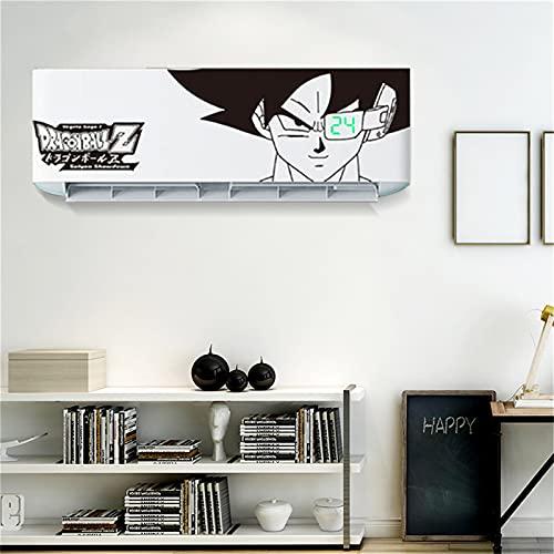 Adesivi da parete per condizionatore d'aria per camera dei bambini, decorazione del bagno fai da te creativo anime poster (D,95X26CM)