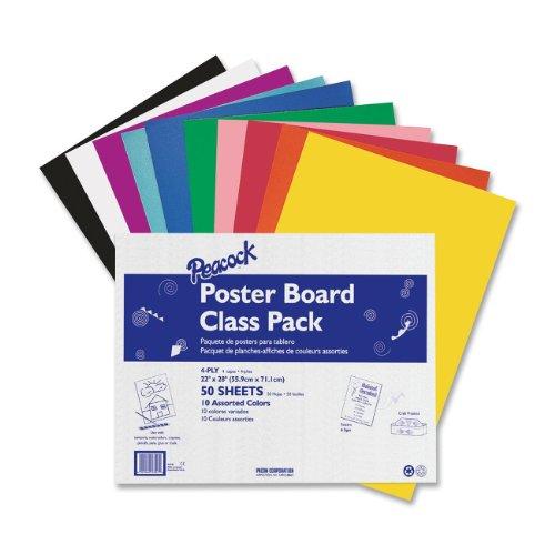 Multi colored Poster Boards