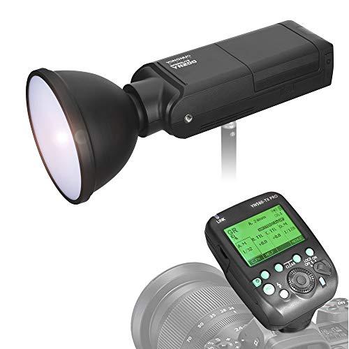 portable flash for cameras YONGNUO YN200 Portable TTL Flash Speedlite 200W GN60 1/8000s High Speed Sync 5600K with YN560-TX PRO Flash Trigger Transmitter for Nikon DSLR Cameras