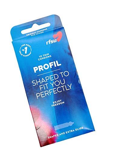 RFSU PROFIL-Kondome 10 Stück, 1er Pack (1 x 10 Stück)